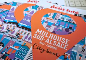 Couverture du Petit Futé City book - Mulhouse Sud-Alsace 2020