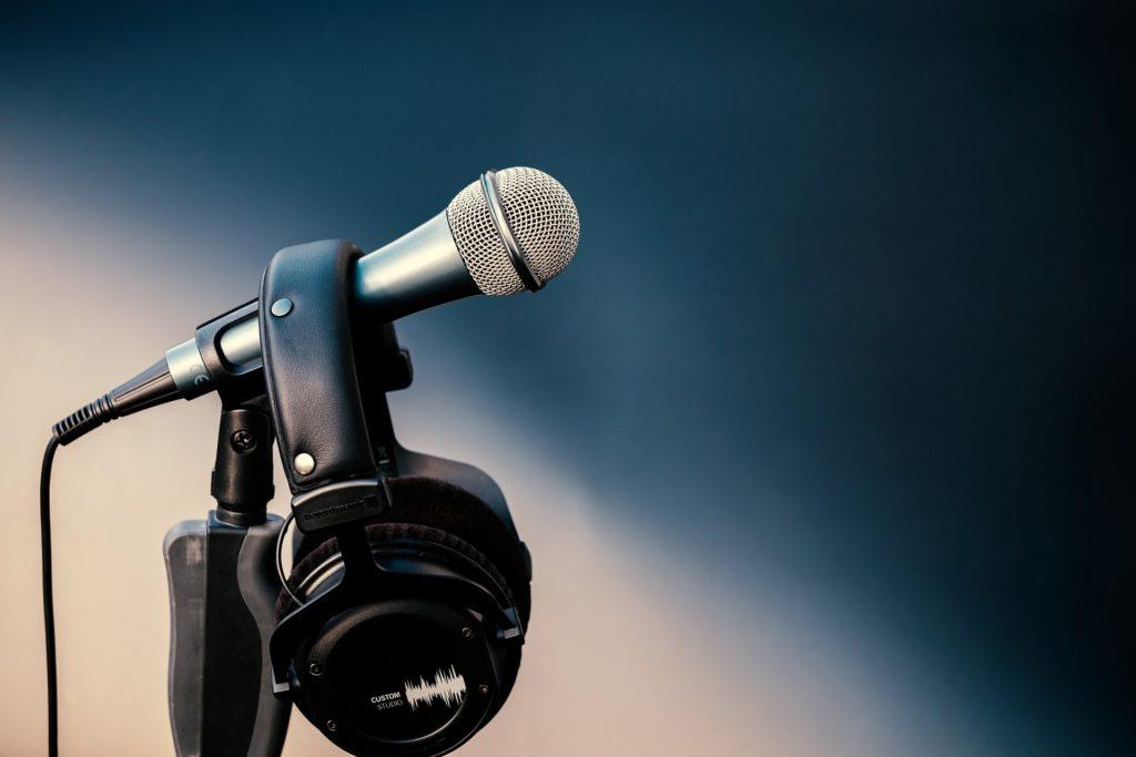 Microphone pour enregistrement de voix off - Emma Com'